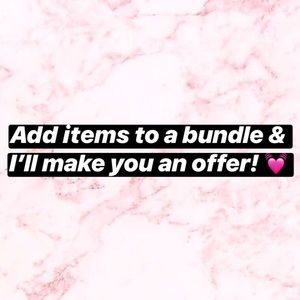 Other - BUNDLE FOR AN OFFER!! :)